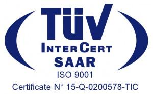 Encore ha un Sistema di Gestione Qualità certicifato ISO 9001 da TUV Intercert